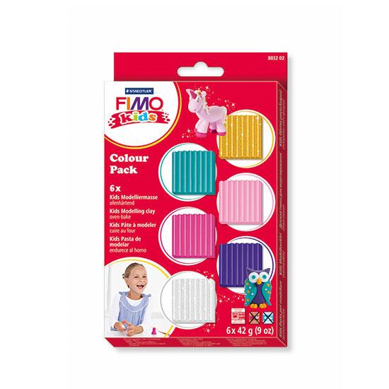 Fimo kids Ler Farve Pakke Basic