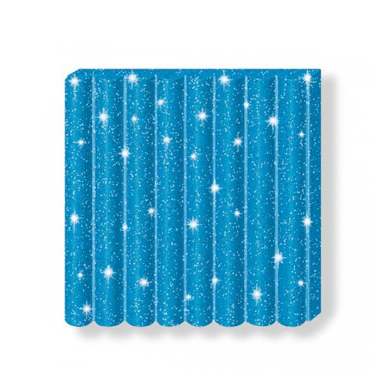 fimo kids glitter blue 8030-312