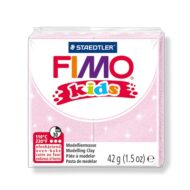 FIMO kids glitter perle rosa ler 8030-206