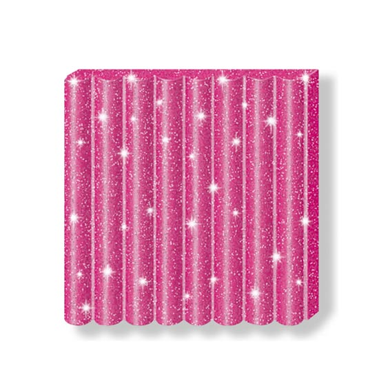 fimo kids glitter pink 8030-262