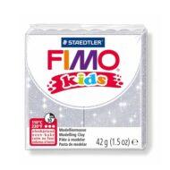 FIMO kids glitter sølv ler 8030-812