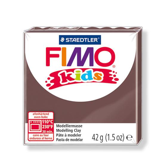 FIMO kids Ler brun 8030-7