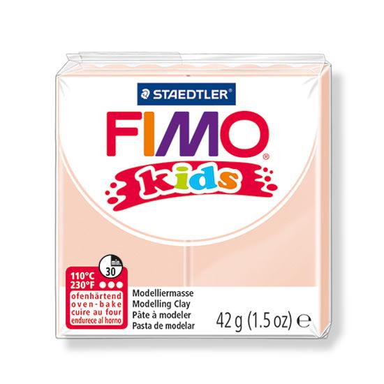 FIMO kids ler hudfarve 8030-4