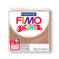 FIMO kids ler lysebrun 8030-71