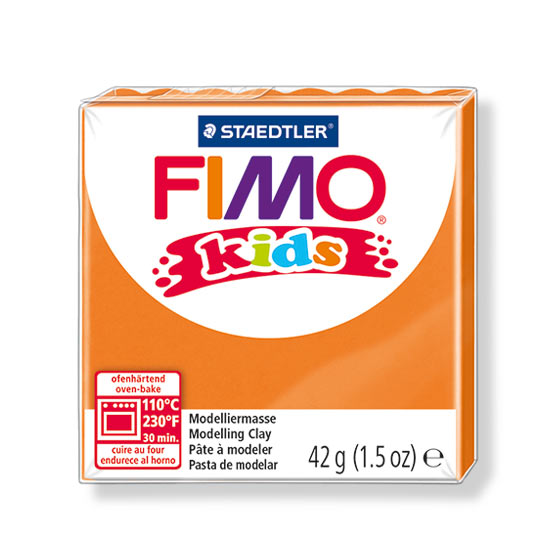 FIMO kids ler orange 8030-4