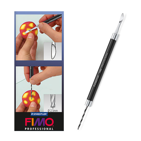 Fimo Professional Drill and Smoothing