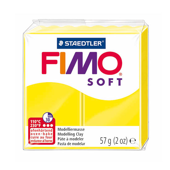 FIMO Soft Citrongul Ler 8020-10