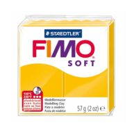 FIMO Soft Solsikke gul Ler Sunflower 8020-16