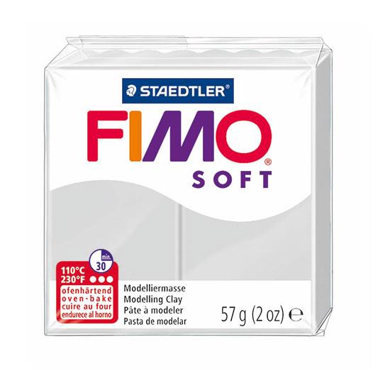 FIMO soft Delfin Grå Ler 8020-80
