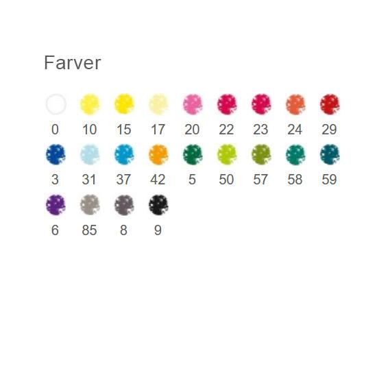 24 pastelfarver