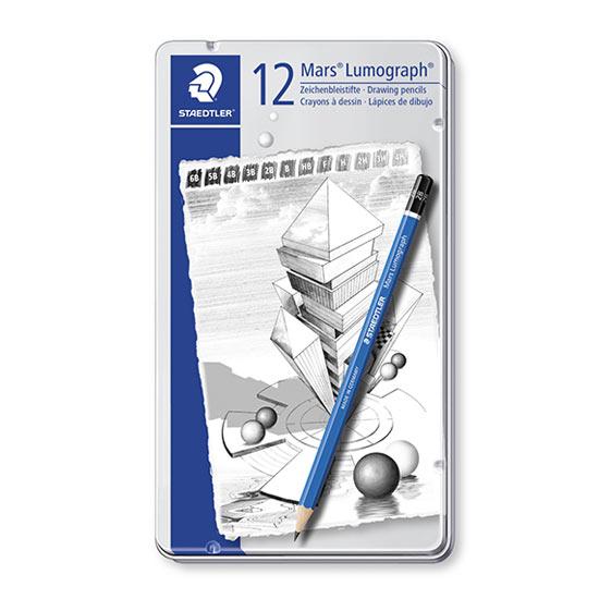 Staedtler mars lumograph 12 blyanter 100 g12