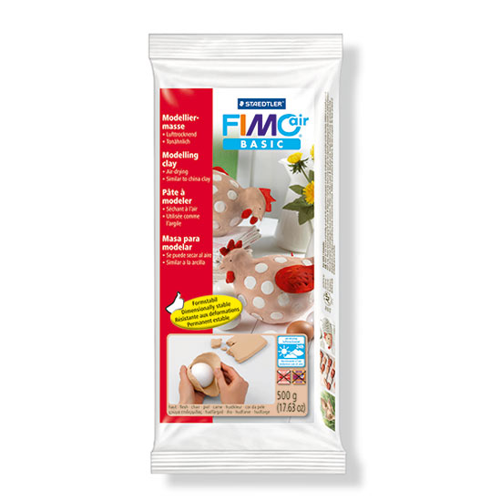 Fimo air basic flesh modelleringsler 500g