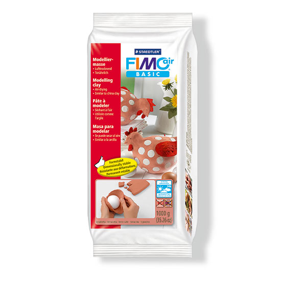Fimo air basic terracotta 1kg 8100-76