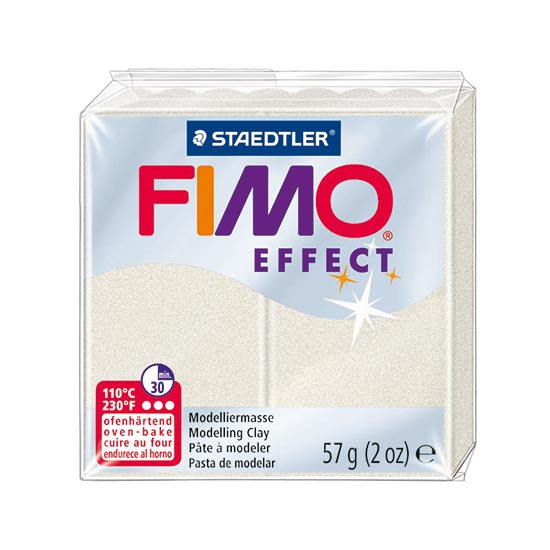FIMO Effect Metallic Perle Ler