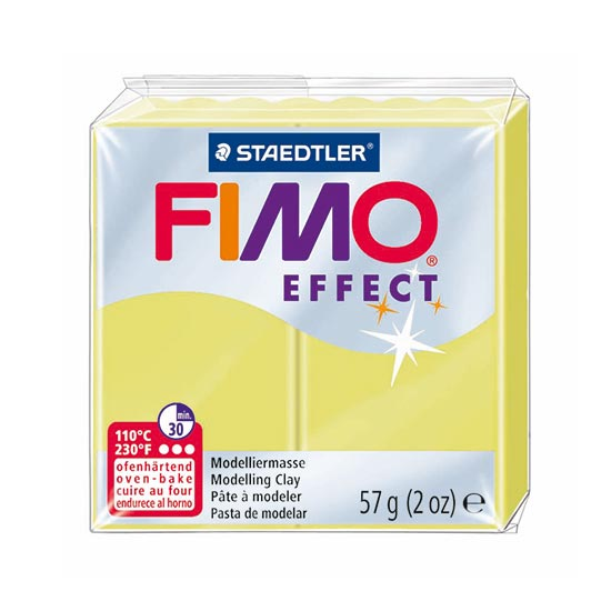 Fimo effect gemstone citrin ler