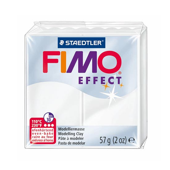 Fimo effect translucent ler