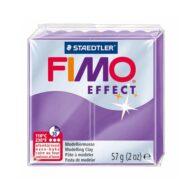 Fimo effect translucent lilla ler