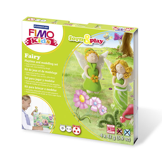FIMO kids Fairy Form and Play - Fe Sæt