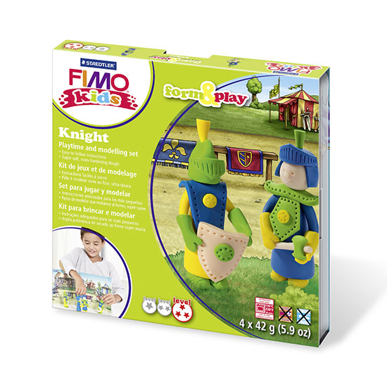 FIMO kids Knight Form and Play - Ridder Sæt