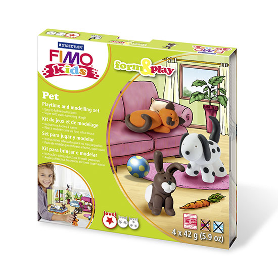 FIMO kids Pet Form and Play - kæledyr sæt