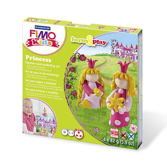 FIMO kids Princess Form and Play - Prinsesse Sæt