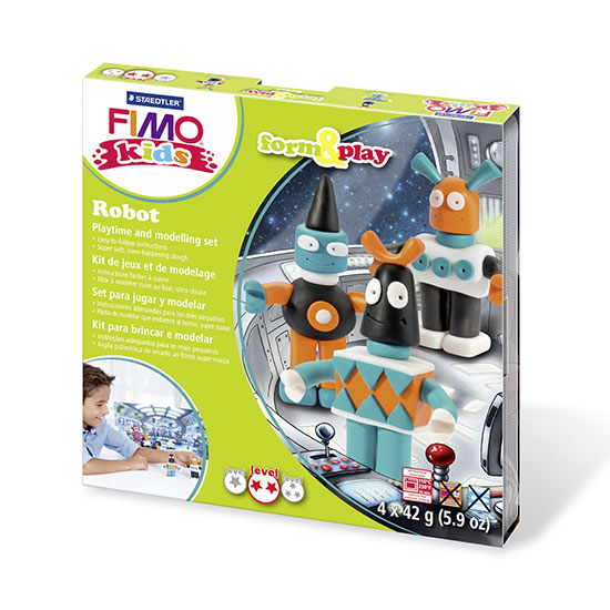 FIMO kids Robot Form and Play Sæt