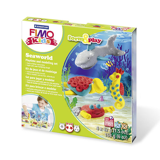 FIMO kids Seaworld Form and Play Sæt