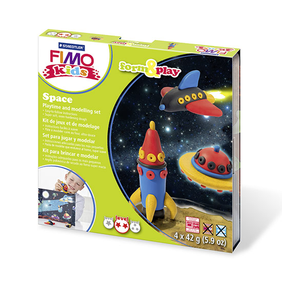FIMO kids Space Form and Play sæt