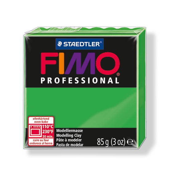 fimo professional groen ler 8004-5