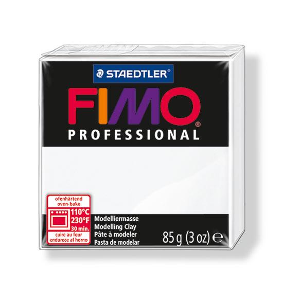 Fimo professional hvid polymer ler 8004-0