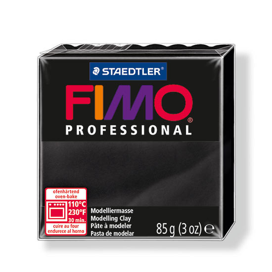 Fimo professional sort polymer ler 8004-9