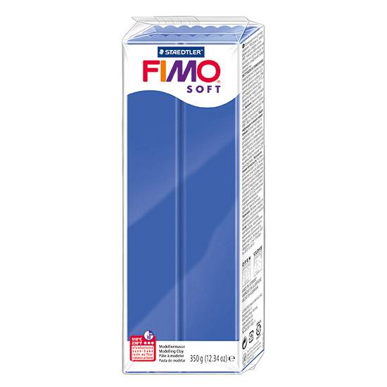 fimo soft brilliant blå polymer ler 350g