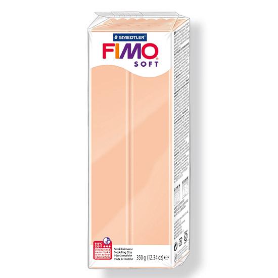 fimo soft lys hudfarve polymer ler 350g