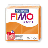 fimo soft trend sunny orange ler 8020-41