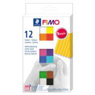 FIMO Soft Colour Pack 8023 C12-1 – Farvesæt med 12 farver