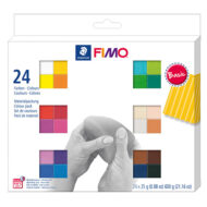 FIMO Soft Colour Pack 8023 C24 Basic - 24 Farver Ler