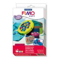 FIMO Soft Cool Colours - Farvesæt