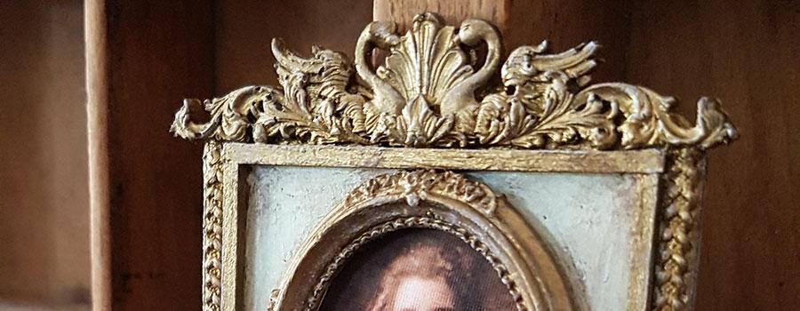 Lave dine egne franske miniature trumeau-spejle