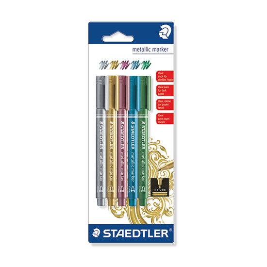 STAEDTLER Metallic Marker - 5 stk 8323sbk5