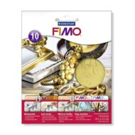 FIMO Leaf Metal 8781-11 - Metalblade guld 10 ark