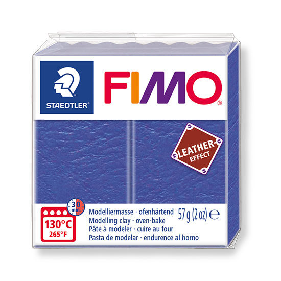 Fimo leather effect indigo 57g - 8010-309