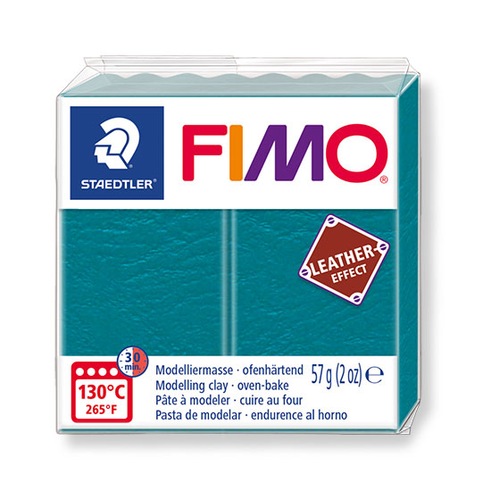 Fimo leather effect lagoon 57g - 8010-369