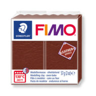 Fimo leather effect nut 57g - 8010-779