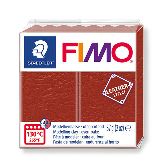 Fimo leather effect rust 57g - 8010-749