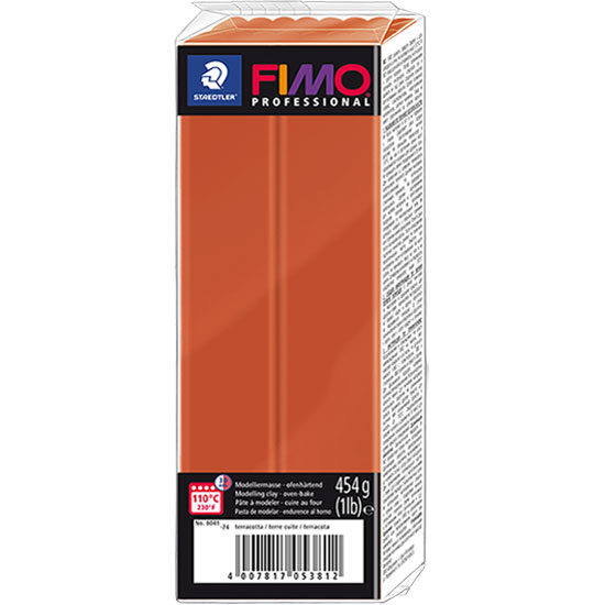 FIMO Professional Terrakotta 454g – Polymer Ler 8041-74