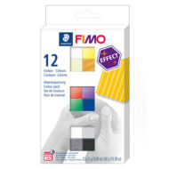 FIMO Effect Colour Pack 8013 C12-1 - Farvesæt