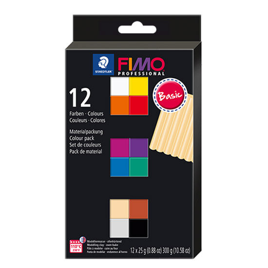 FIMO Professional Basic Colour Pack 8043 C12 - Farvesæt