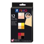 FIMO Professional Doll Art Colour Pack 8073 C12 - Farversæt