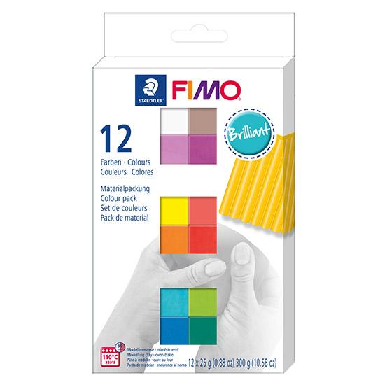 FIMO Soft Colour Pack Brilliant 8023 C12-2 - Farvesæt