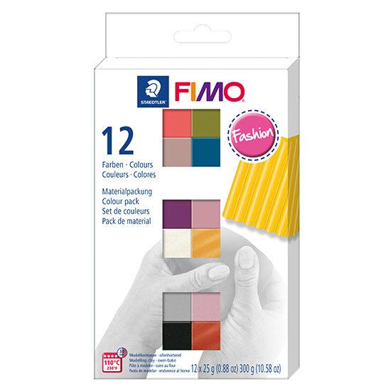 FIMO Soft Colour Pack Fashion 8023 C12-5 - Farvesæt